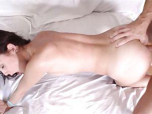 Big Tits Chick Fucks Her Man To A Huge Orgasm
