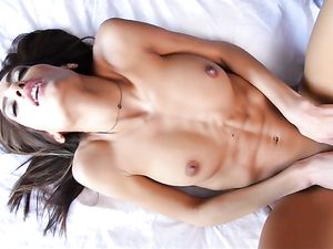 Babe With A Fit And Lean Teen Body Gets Fucked