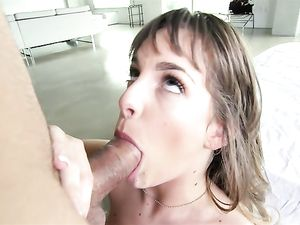 Big Cock Makes The Teenage Girl So Happy