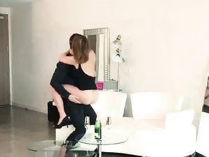 Oil Massage Makes Her Wild For Erotic Hardcore Sex