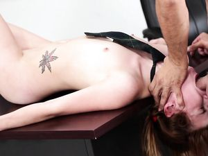 Cute Schoolgirl And Her Teacher Fucking Passionately
