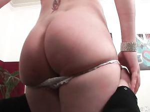 Blonde Teen In Satin Stripped Naked And Ass Fucked
