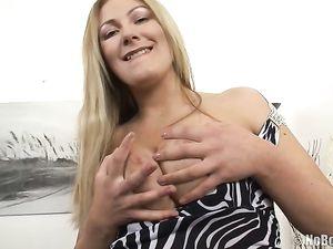 Big Butt Teen In A Slutty Dress Does a DP
