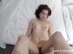 Scantily Clad Babe Is Here For POV Hotel Sex