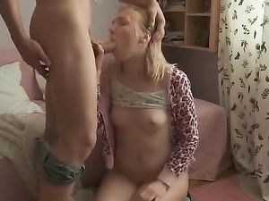 Teen Demands Hard Dick From Her Boyfriend