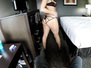 Hot Bra And Panties On The Hotel Room Escort