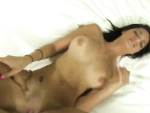 Cumming On Her Tight Young Ass After Hot Sex