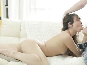 Big Cock Anal Pleasures With His Teenage Girlfriend