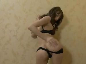 Great Tits And A Tight Ass On This Masturbating Teen