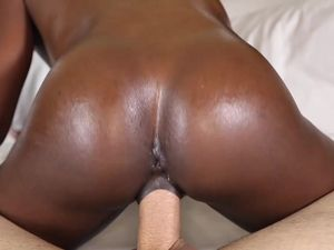 Tight Black Teen Pussy Banged By A White Cock