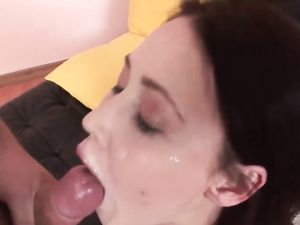 Slutty Russian Anal Babe Takes A Toy And A Dick