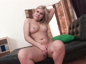 Big Butt Blonde And Her Huge Dildos Have Hot Sex
