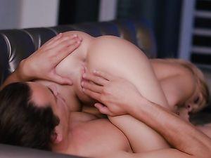 Tender Lovemaking In A Vegas Hotel Room