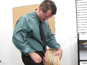 Teacher Eats Schoolgirl Pussy And Fucks The Cutie