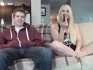 Bossy Teen Demands Pleasure Before Giving Any