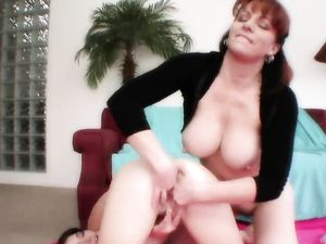 Mom And Teen Ashlyn Rae Have Great Lesbian Sex
