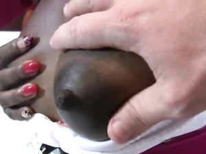 Black Costume Whore In A Hotel Room Gets A Facial