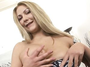Double Penetration For A Busty Blonde Angel